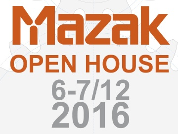 Open house MAZAK 6-7 grudnia 2016!