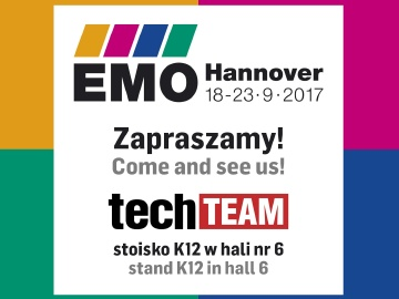 We invite you to EMO 2017 in Hannover!