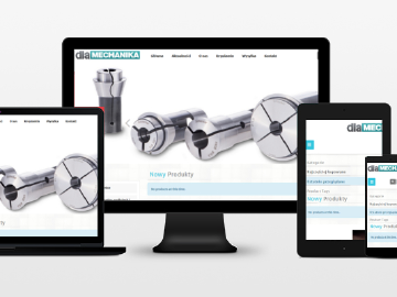 New website for our CNC accessories online store www.dlamechanika.pl